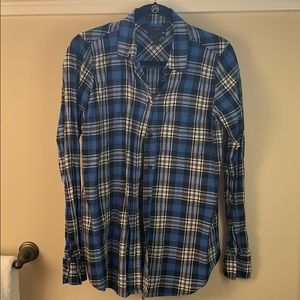 "J.Crew Plaid ""Boy"" Shirt"